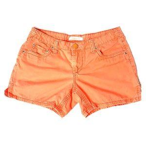 No Boundaries Coral Shorts
